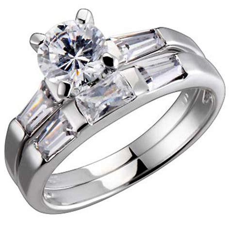 Wedding Rings Zirconia by Cubic Zirconia Wedding Rings Wedding Plan Ideas