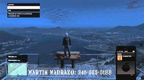 gta   full list  phone numbers  call notes