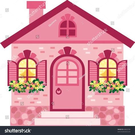symbols in a doll house house stock vector 60822739 shutterstock