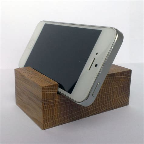 iphone desk stand oak wood iphone smart phone desk stand holder iphone wood