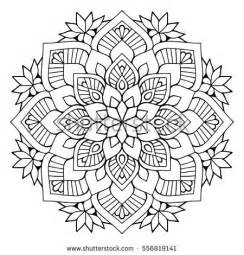 Galerry flower bud coloring page