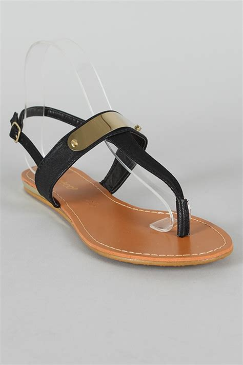 black and gold flat sandals black and gold flat sandals accessorized