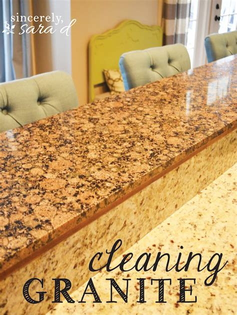 How To Clean Your Granite Countertop by Page 21 Of 33 Sincerely D