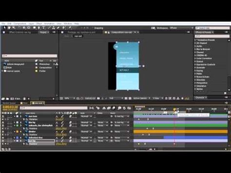 tutorial web animation how to use after effects for web animation prototypes