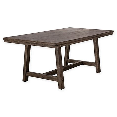 bed bath beyond dining table hillsdale legacy extendable dining table bed bath beyond