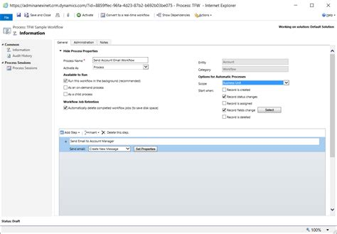 microsoft crm workflow exles workflows with dynamics crm anexinet