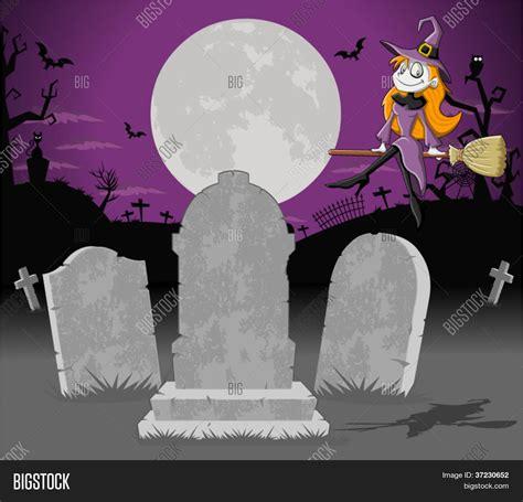 imagenes de halloween tumbas vector y foto fondo de halloween cementerio con bigstock