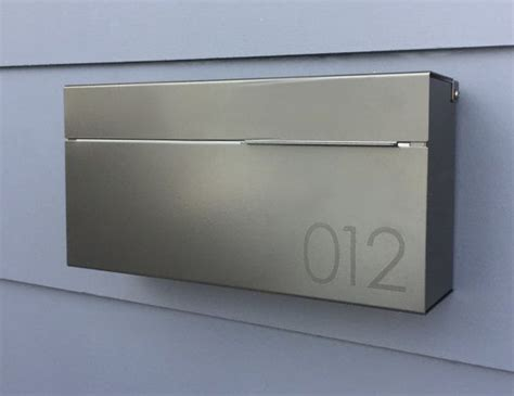 Modern Wall Mailbox by 25 Best Ideas About Modern Mailbox On