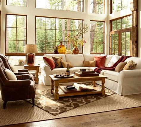 Pottery Barn Living Room Decorating Ideas by Pottery Barn