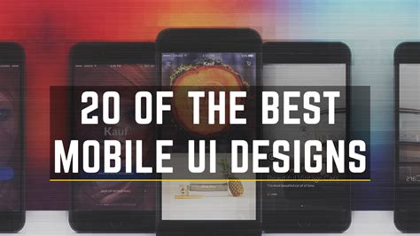 best mobile 20 of the best mobile ui ux designs for inspiration