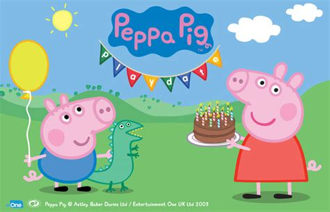 peppa pig play date coming to australia the lifestyle