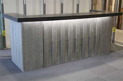 39 Best Images About Our Goods On Pinterest Custom Concrete Reception Desk