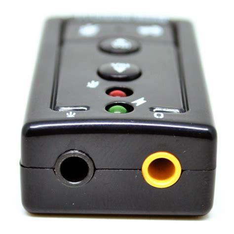 Channel Usb Sound Card 7 1 1 taffware usb 7 1 channel sound card adapter