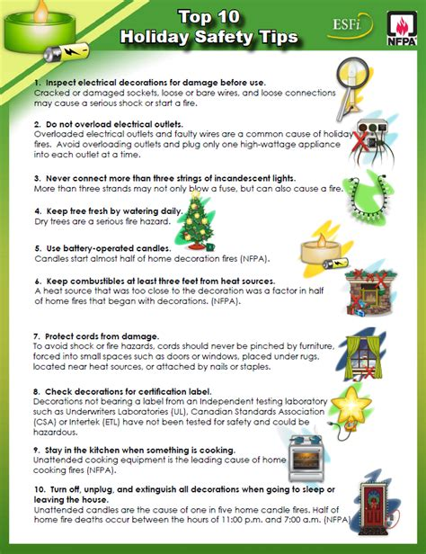 top 10 safety tips