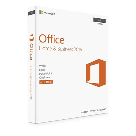 Microsoft Office Home Business microsoft office for mac home business 2016 apple uk