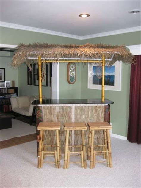Build A Tiki Bar How To Build A Portable Tiki Bar Woodworking Projects