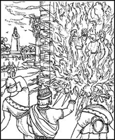 shadrach meshach and abednego coloring page shadrach meshach and abednego obeyed god s commandments