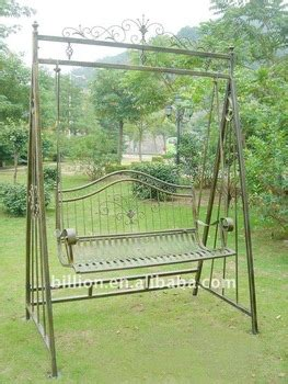 wrought iron swing chair garden wrought iron swing chair buy wrought iron swing
