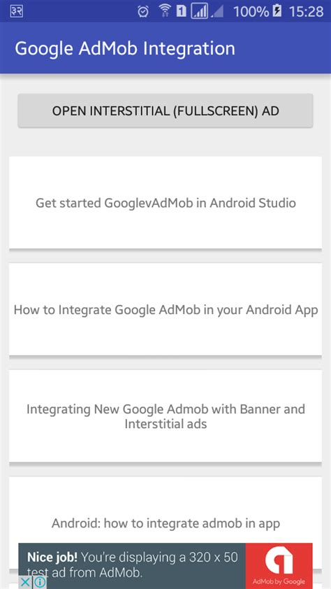 android advertising id how to integrate admob in android viral android tutorials exles ux ui design