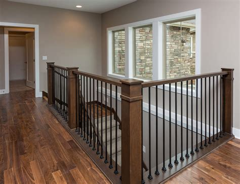 interior railings and banisters transitional interior railing artistic iron works