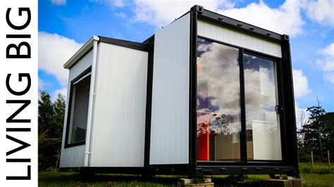 Amazing 20ft Shipping Container Home   The Pod Tainer