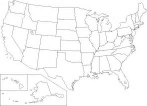 Free United States Map Outline Printable by Geography Printable United States Maps