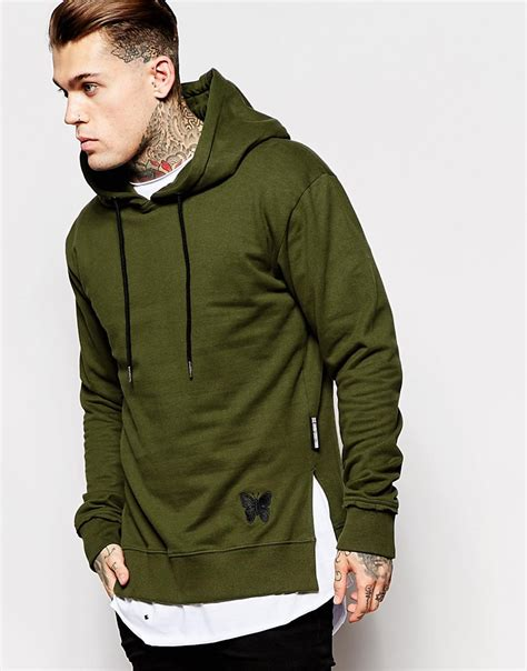 Hoodie Zipper Sweater Nike Logo 04 green hoodie mens baggage clothing