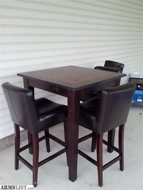Bar Table And Chairs by Armslist For Sale Trade Bar Height Table And Chairs