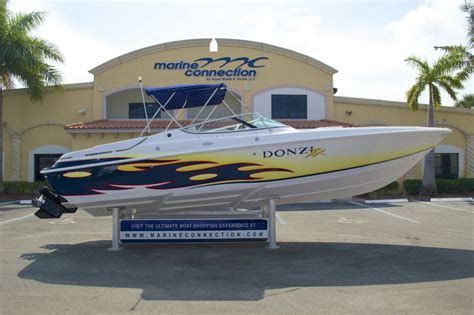 donzi boat exhaust used 2004 donzi 28 zx boat for sale in west palm beach fl