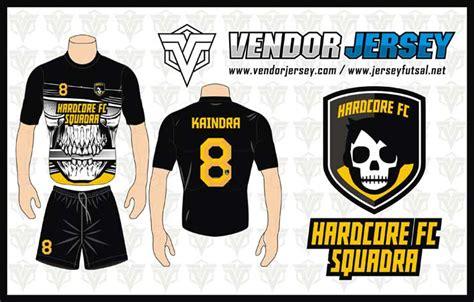 Vendor Jersey Futsal Seragam Futsal Custom Tangerang bikin jersey seragam futsal gambar motif tengkorak