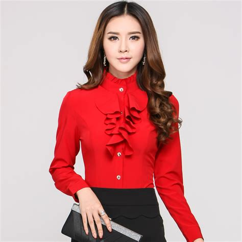 red blouses for women red blouses for women lace henley blouse