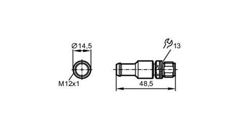 profibus terminating resistor e12315 terminating resistor for profibus dp ifm electronic