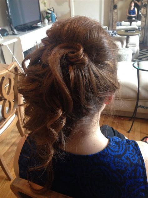special occasion hairstyles half up half down 16 best half up and half down hairstyles images on
