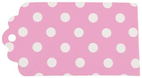 printable gift tags pink hanging paper gift tags 12pcs scallop polka dot baby pink
