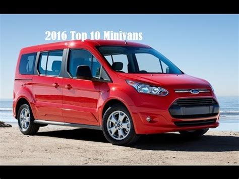 subaru minivan 2016 2016 top 10 minivans 2016 car