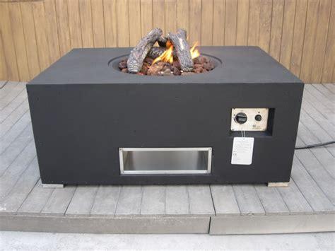 Gas Feuerstelle Outdoor by Tisch Mit Gas Feuerstelle Klimaanlage Und Heizung