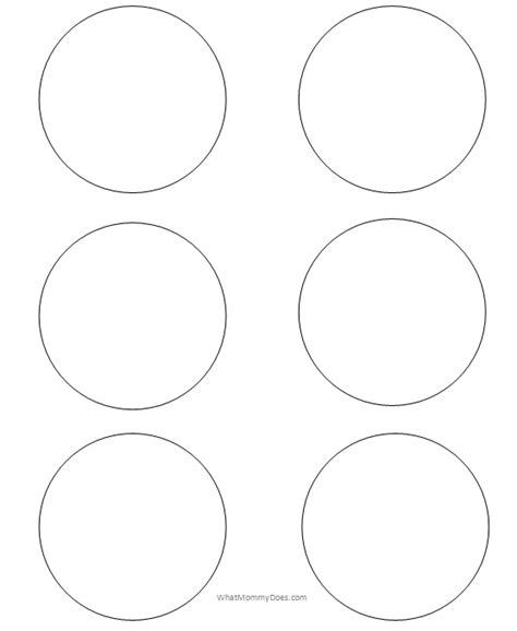 3 inch circle template free free printable circle templates large and small stencils