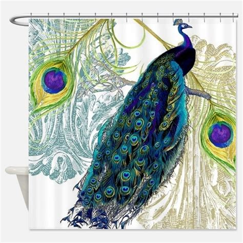 peacock drapes vintage peacock shower curtains vintage peacock fabric
