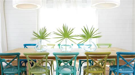 Beach House Dining Rooms Coastal Living