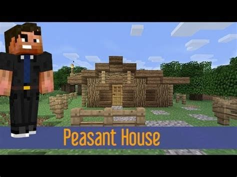 minecraft small rustic house tutorial easy fast quick