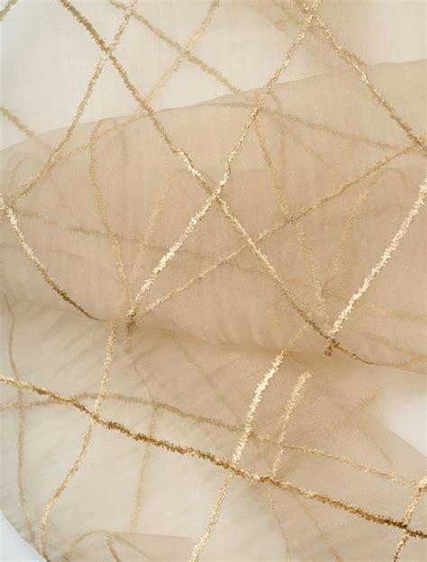 sheer fabric liona faux organza silk sheer fabric