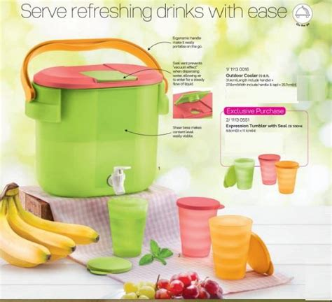 tupperware outdoor cooler 8 7l 1 end 4 17 2017 3 15 pm