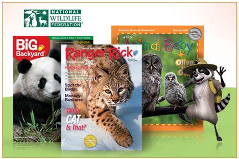 your big backyard magazine subscription ranger rick your big backyard or wild animal baby for