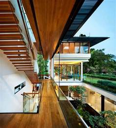 Interior Courtyard House Plans modern tropical bungalow dalvey road house by guz