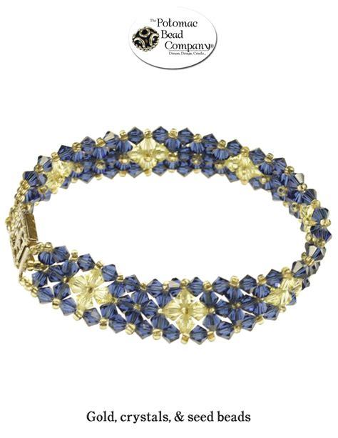 potomac bead blazing bicones bracelet from potomac bead company http