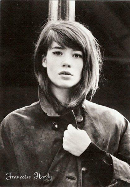francoise hardy haircut fran 231 oise hardy this girl is so pretty and i love her