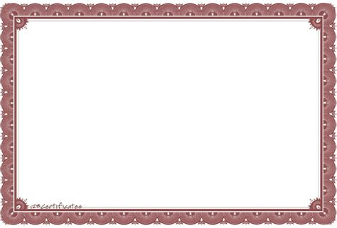 free printable certificate border templates certificates borders studio design gallery best design