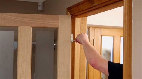How To Hang Prehung Interior Door Image Gallery Hanging A Door