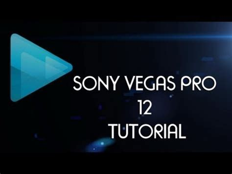 sony vegas pro manual tutorial how to save a video in sony vegas pro 12 with best render