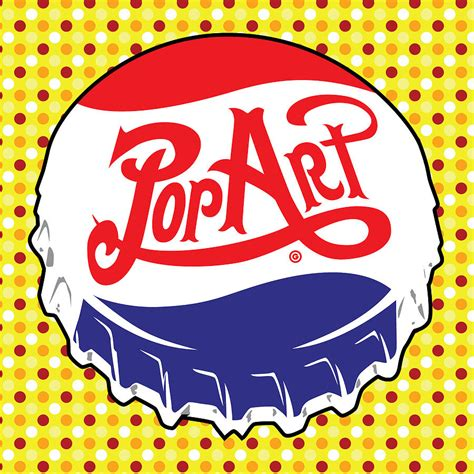 pop of pop bottle cap painting by gary grayson